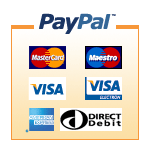 Payment by Paypal available