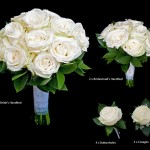 Cream Rose Bridal Package £190